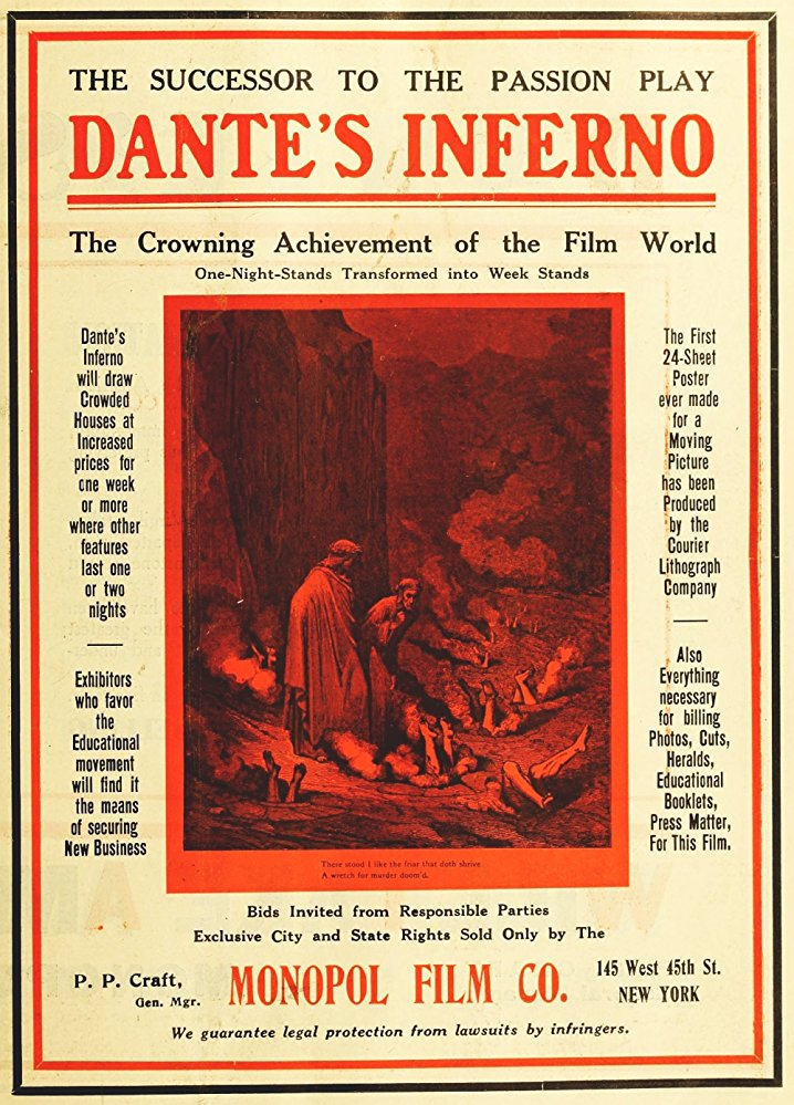 L'Inferno (1911) by FRANCESCO BERTOLINI, ADOLFO PADOVAN and GIUSEPPE DE LIGUORO