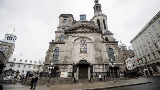 La Basilique-cathédrale Notre-Dame de Québec Photo : Radio-Canada/Maxime Corneau