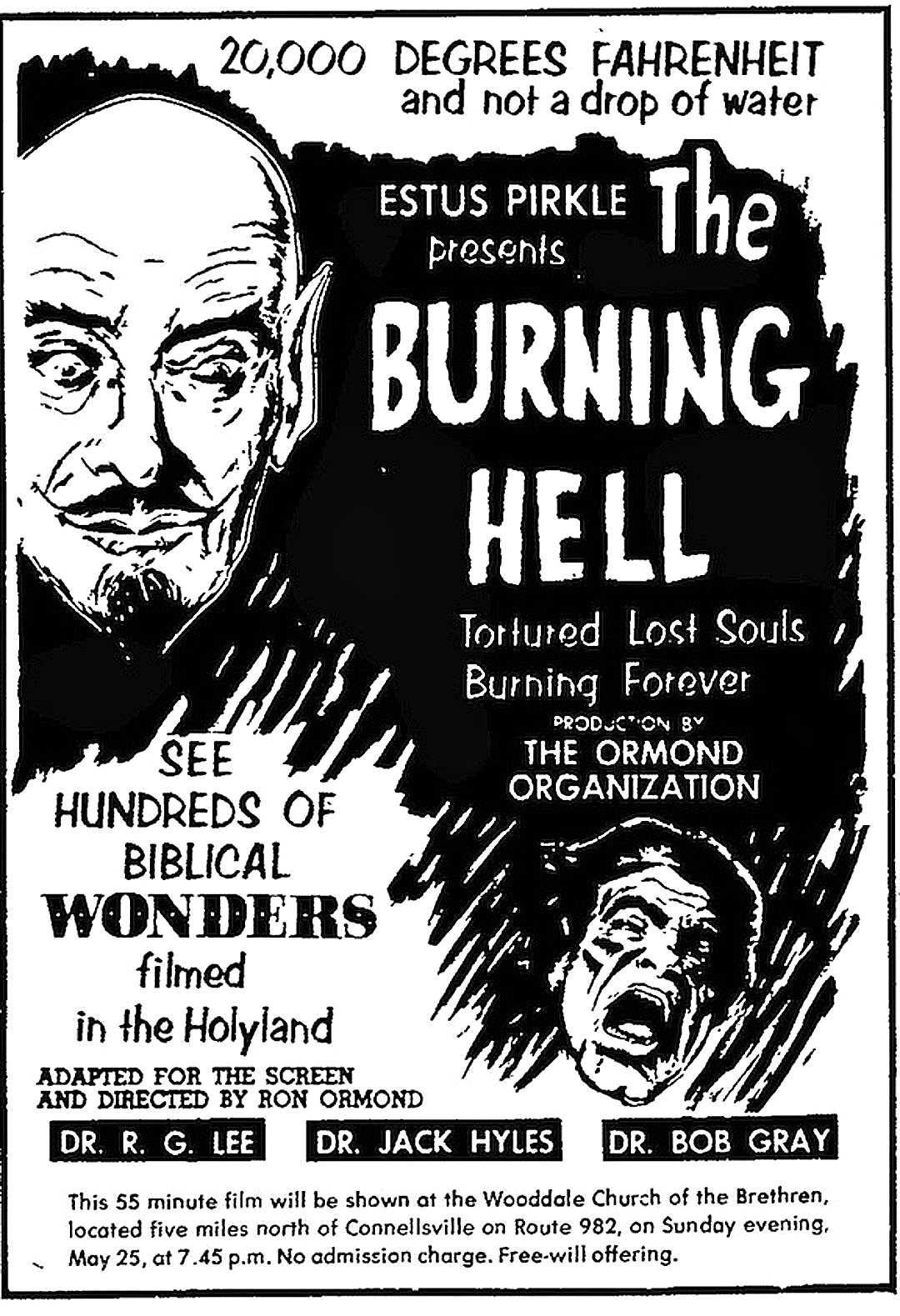 The Burning Hell (1974) by RON ORMOND