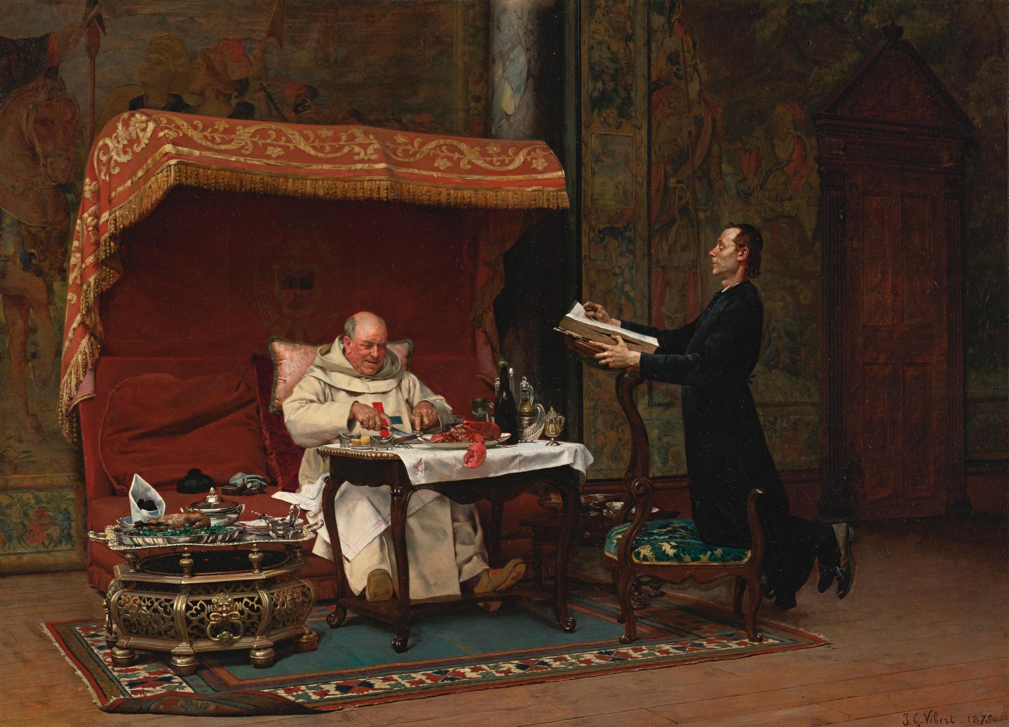 JEAN-GEORGES VIBERT (1840-1902)