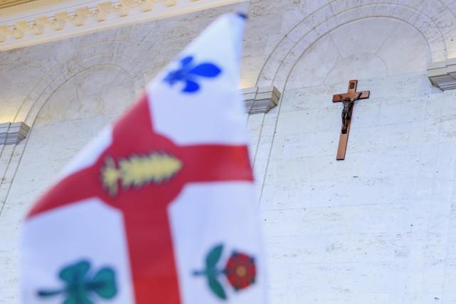 Le crucifix rejoindra une section muséale qui sera créée dans l'hôtel de ville afin de mettre en valeur des objets patrimoniaux. Photo Alain Roberge, La Presse