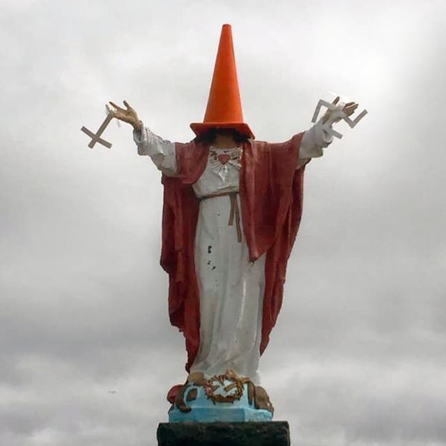 Lac-Saint-Jean: des mauvais plaisantins s'en prennent au Sacré-Cœur de Labrecque