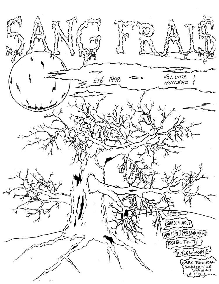 SANG FRAIS, volume 1 numéro 1, été 1998