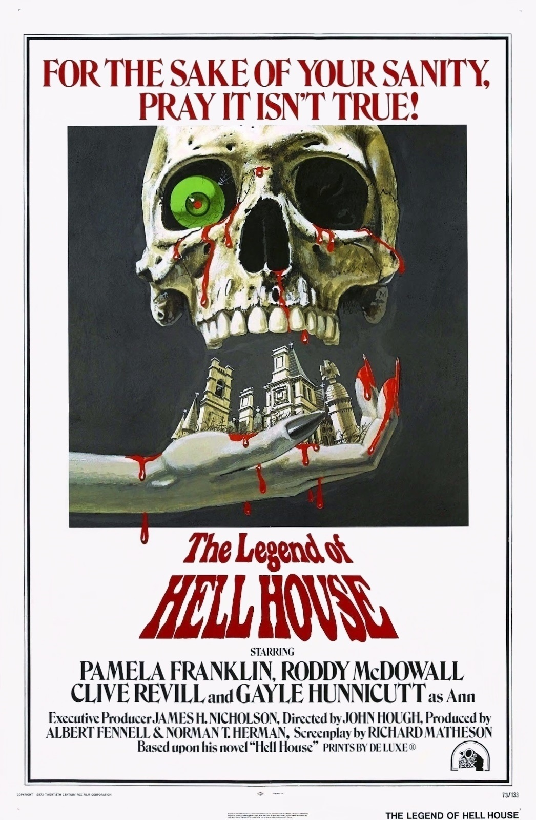 The Legend of Hell House (1973) by JOHN HOUGH