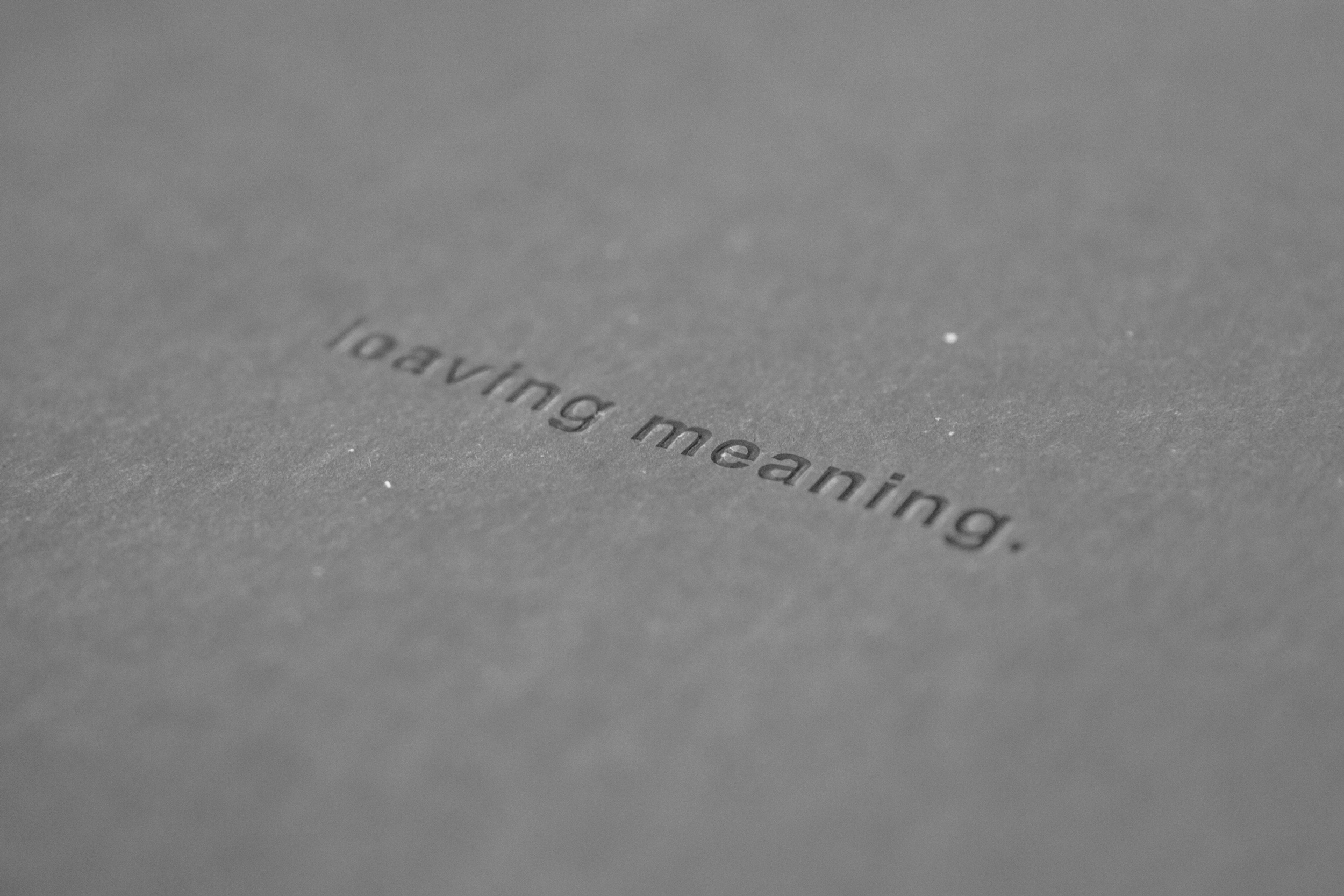 A.L.A. vs. leaving meaning. (2019) by SWANS