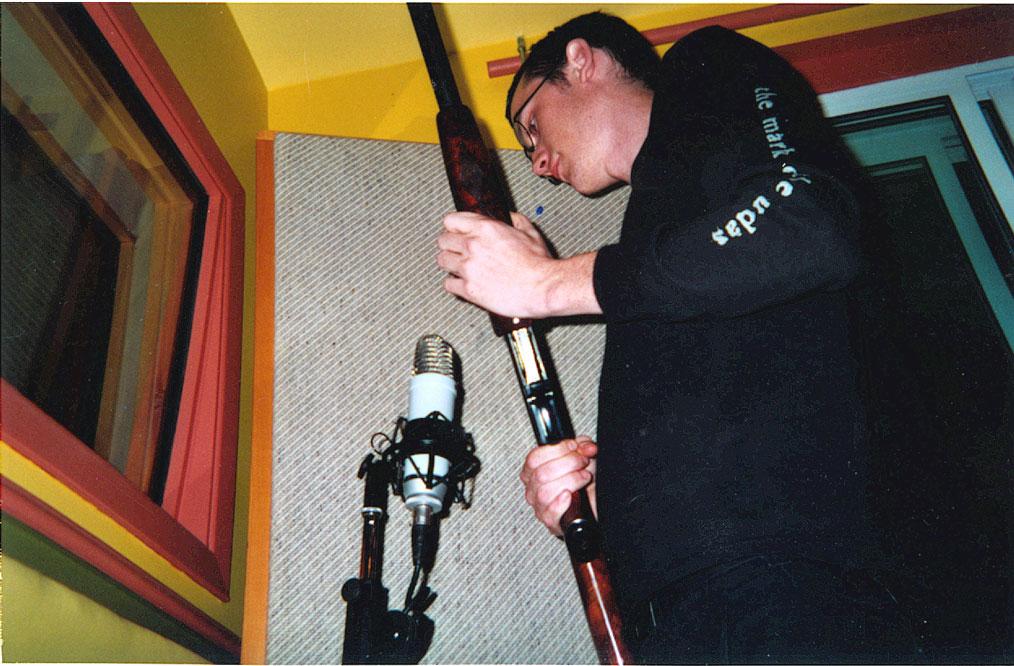 MI AMORE - ENREGISTREMENT DE L'ALBUM CRAWLIN' KINGSNAKE @ Le Labs, Val Bélair, p.Q., 11 octobre – 13 novembre 2001